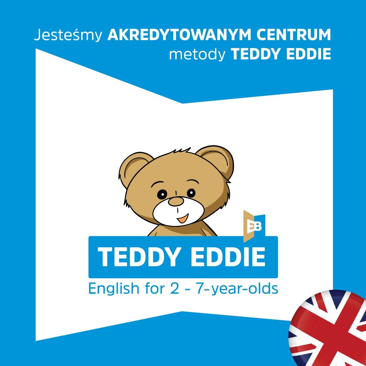 Angielski TEDDY EDDIE 2-7 lat